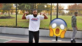 1V1 VS MODDAGOD TV | ONE OF THE BEST BASKETBALL YOUTUBERS !!