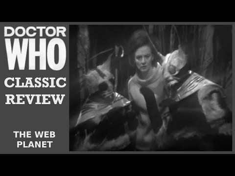 Classic Doctor Who Review - The Web Planet