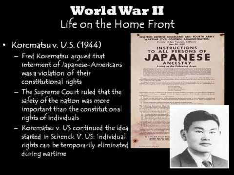 World War II: The American Home Front