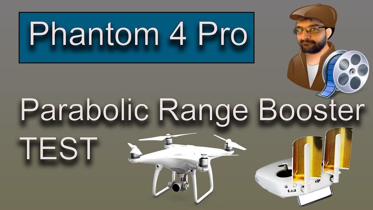 Phantom 3 Pro P4 pro P4 Advanced Advanced and 4K Inspire 1 Controller Ultimaxx Copper Parabolic Antenna Signal Range Booster for DJI Phantom 4