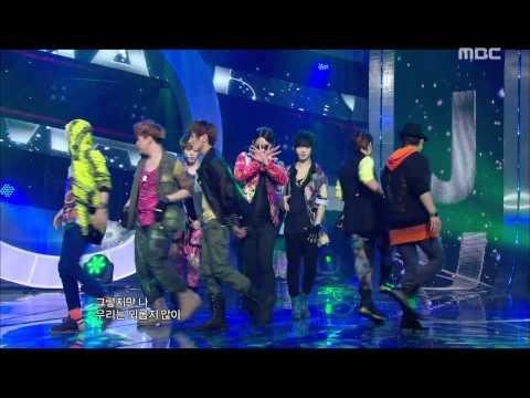 Super Junior - Superman, 슈퍼주니어 - 슈퍼맨, Music Core 20110806