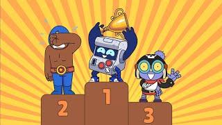 Brawl Stars Animation | RACING MODE (Parody) Video