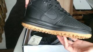 Nike Lunar Force Duckboot Shoes unboxing + on feet from aliexpress/dhgate/ioffer