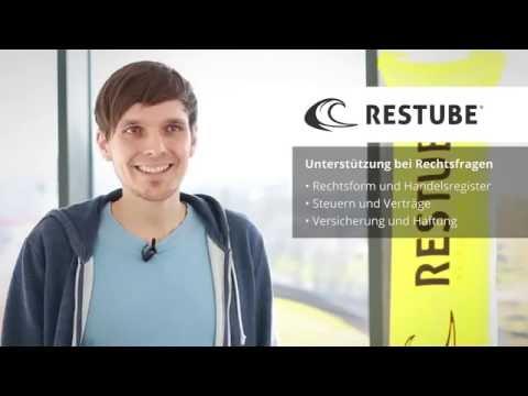 RESTUBE GmbH – vom Start-up zum erfolgreichen Unternehmen
