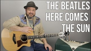 The Beatles Here Comes The Sun Guitar Lesson + Tutorial