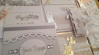 10 Cards 1 kit | ''Love my Scraps - Wedding'' cardmaking set