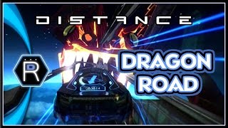 DRAGON ROAD - Distance Gameplay - PC Racing Game [Custom Track]