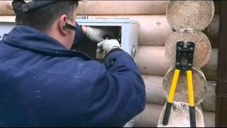видео Ретро проводка в деревянном доме: виды, устройство, способы монтажа и цена работы