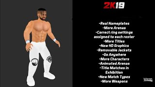 New Wr3d Mod 2k19 Download Link By Hhh By Mike Bail By