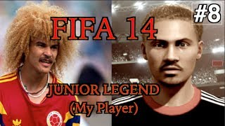 Fifa 14||Cinematic My Player (Book 1)||Ch8: Tired Legs... Tight Race!