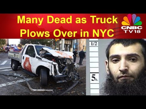 Multiple Dead, Injured in Lower Manhattan Terrorist Attacks in New York City | CNBC TV18