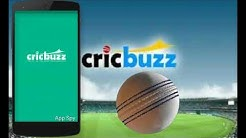 Cricket Live Score updates (Cricbuzz app)