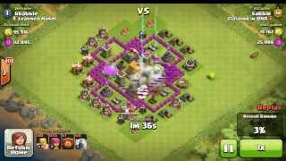 Clash of Clans Simple Barcher Loot