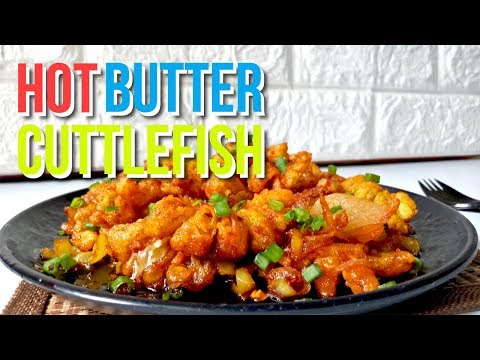 Sri Lankan Hot Butter Cuttlefish (Squid/Calamari) | HMWY | Episode 10
