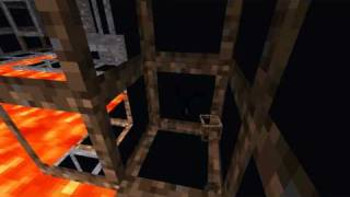 Repeat youtube video Minecraft 'Transparent' texture pack! See through walls! Works on 1.x and on.