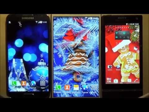 Free Christmas HD Live Wallpaper For Android Phones And Tablets