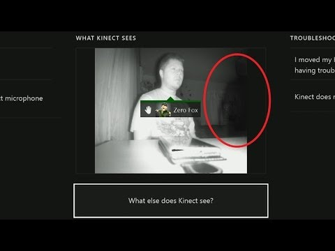 UNEXPLAINED | Ghost Footage Captured Weird Shadow Person? I Xbox One Kinect CREEPY DISTURBING