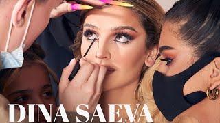 DINA SAEVA Дина Саева Учебник по макияжу шоппинг MAKEUP TUTORIAL SHOPPING HAUL Q A