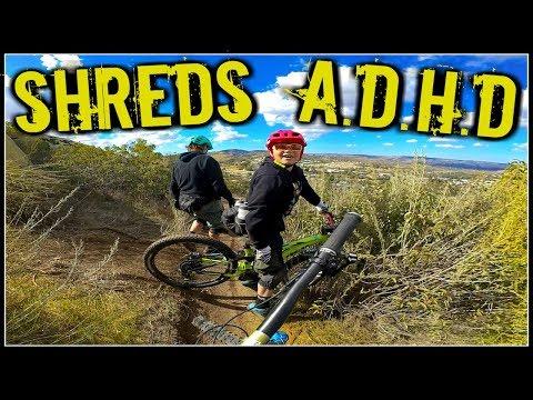 Kid Rides Mountain Bikes To Treat ADHD | Father & Son Mountain Biking | San Diego Mountain Biking
