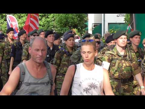 4 Days Marches Nijmegen 2017 day 2 Wijchen part 5 of 8 videos all military and some others