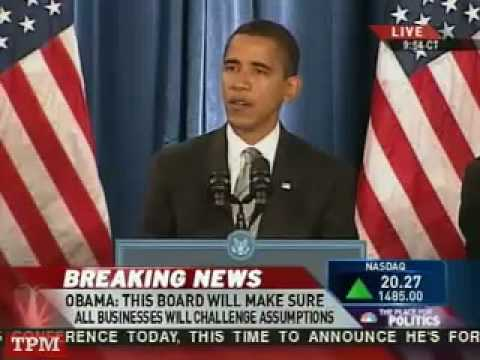 Obama Holds 3rd Press Conference on Economic Recovery Plans