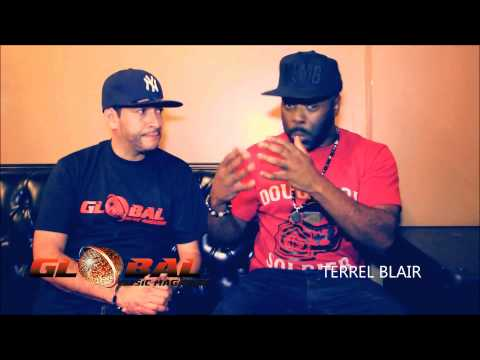 GLOBAL MUSIC MAG EXCLUSIVE WITH  INTERVIEW TERREL BLAIR