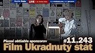 Live: Film Ukradnutý štát a defraudantka Zuzana Piussi - ako obtiahla sponzorov #11.242