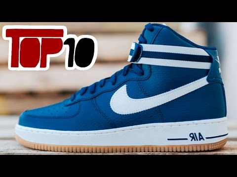 Top 10 Nike Air Force 1 Shoes Of 2016