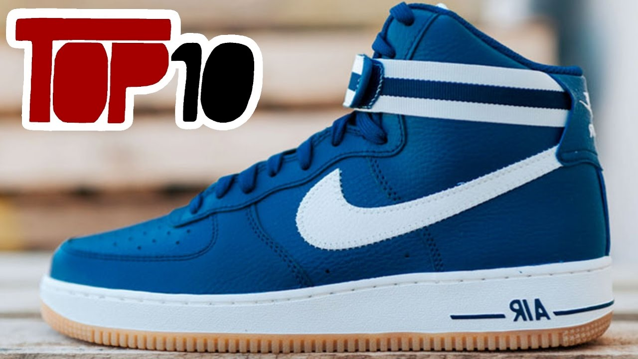 b94672ef88c5 Top 10 Nike Air Force 1 Shoes Of 2016 - YouTube