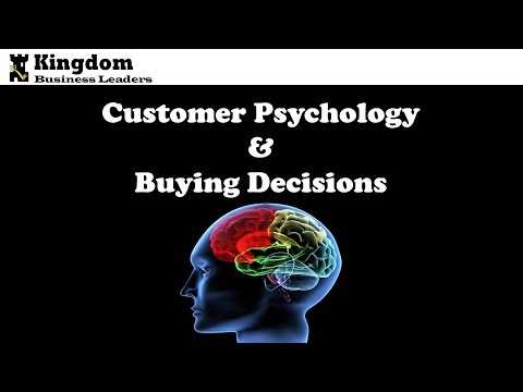 """""""Consumer Psychology and Buying Decisions"""" Paul Morris"""