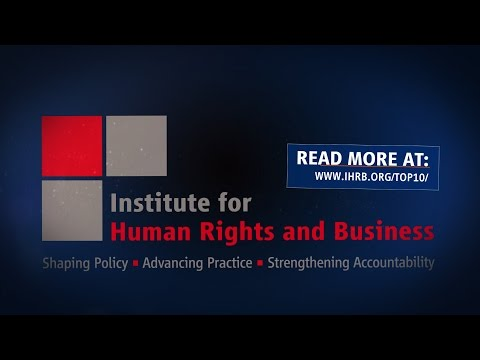 Top 10 Business & Human Rights Issues in 2016