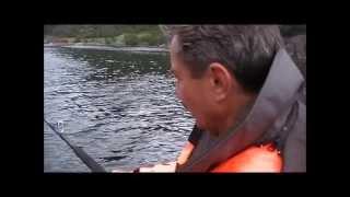 Leng angeln in Norwegen