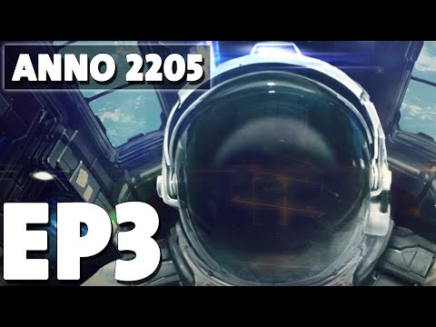 Let's Play Anno 2205 Episode 3 - The Arctic Sector - Base Building Management Game