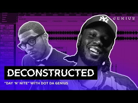 The Making Of Kid Cudis Day N Nite With Dot Da Genius  Deconstructed