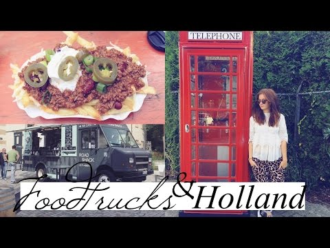 FOOD TRUCKS & HOLLAND | WEEKLY VLOG
