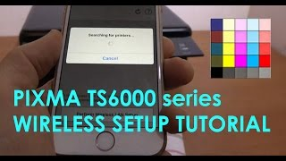 PIXMA TS6000 series (part2) - Wireless Setup