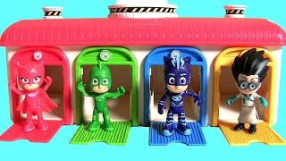 Tayo the Little Bus Garage Disney Pixar Cars 3 Kinder Eggs Surprise PJ MASKS  (꼬마버스 타요) 킨더 디즈니 카3 깜짝