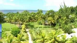 Location de gites en Guadeloupe Fleurs des Iles, visite guidée en vidéo