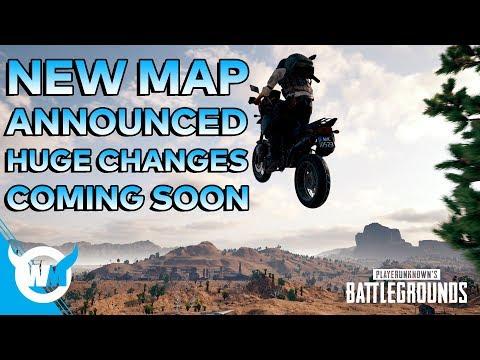 NEW MAP ANNOUNCED! MAJOR PUBG UPDATE COMING! - Battlegrounds Patch News/Gameplay