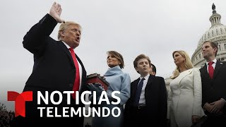 Los polémicos cuatro años del mandato de Donald Trump | Noticias Telemundo