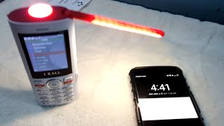 I Kall K42 8000mAh powerbank phone with LED table lamp - unboxing and complete demo