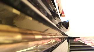 放課後プリンセスの『消えて、白雪姫』を耳コピしてピアノで弾いてみた...