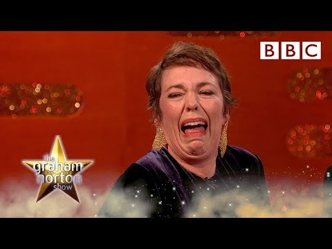 Why Olivia Colman kept crying when playing the Queen 👑 - BBC
