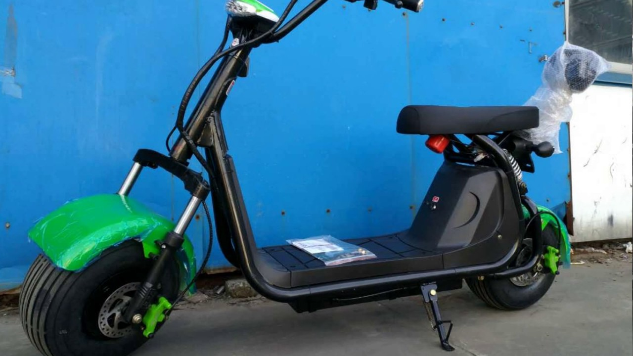 Two Seater Electric Scooter 60v20ah Bicycle Conversion Kit For Desh Market