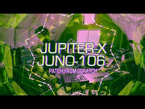 New Jupiter-X vs. Vintage Juno-106: PATCH MATCH™ **No Talking**