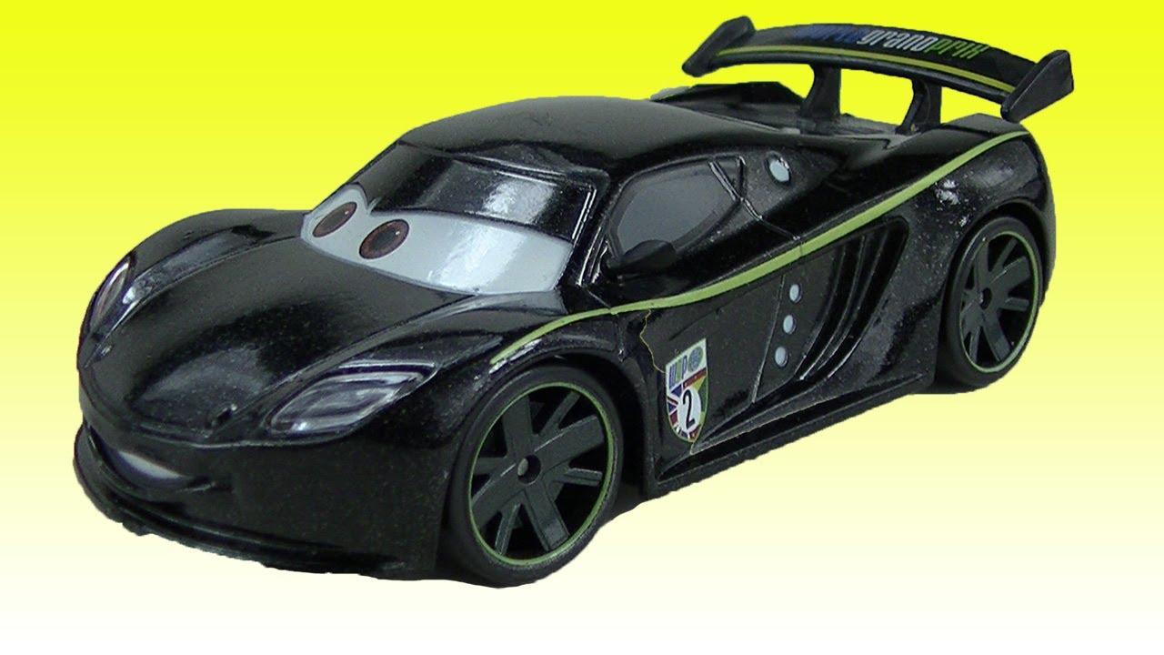 Cars 2 Lewis Hamilton Toy Car From Disney Cars 2 Movie L Toy Wgp