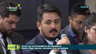Porta-Voz da Presidência da República, Otávio Rêgo Barros, conversa com jornalistas