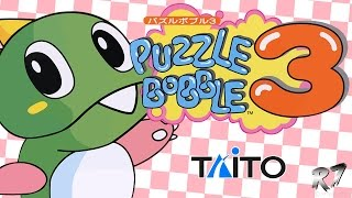 Puzzle Bobble 3 (Bust-A-Move 3) | Arcade | Longplay | HD 720p 60FPS