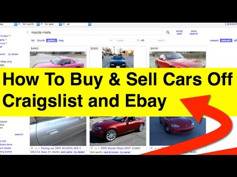 how to buy and sell cars off craigslist insider tips collectables youtube. Black Bedroom Furniture Sets. Home Design Ideas