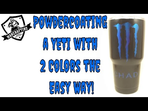 How to Powdercoat a YETI in Two Colors the Easy Way